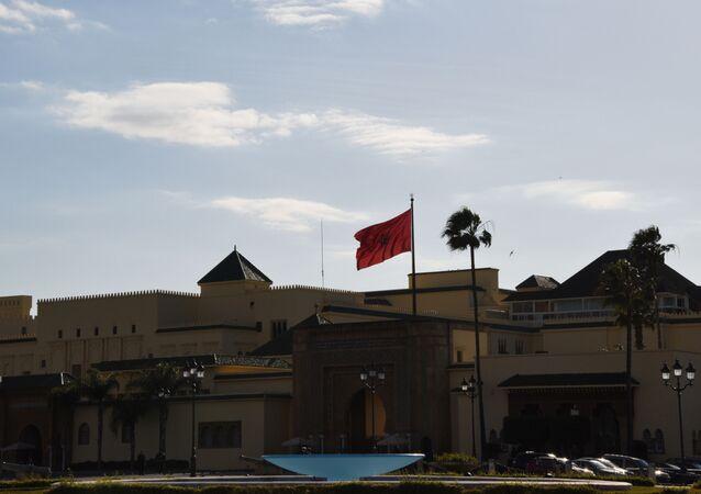 Le drapeau marocain