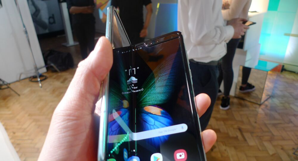 Le smartphone Galaxy Fold de Samsung