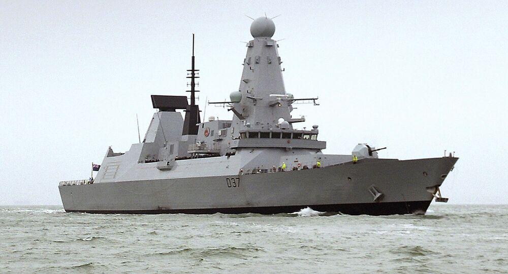 Le HMS Duncan, un destroyer de type 45