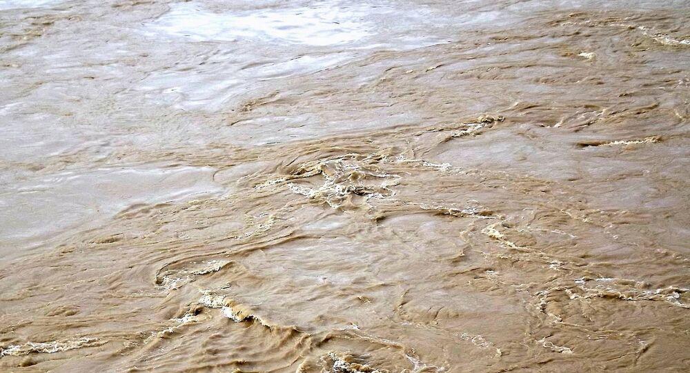 L'eau boueuse