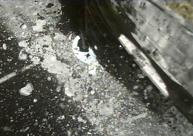 Hayabusa2 se pose sur le Ryugu