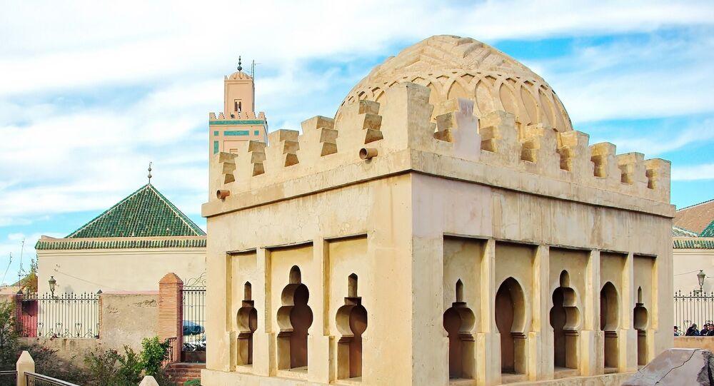 Une mosquée au Maroc