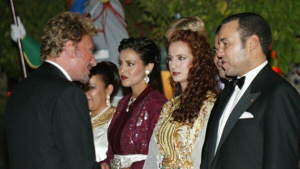 Le roi du Maroc Mohammed VI et la princesse Lalla Salma - Sputnik France