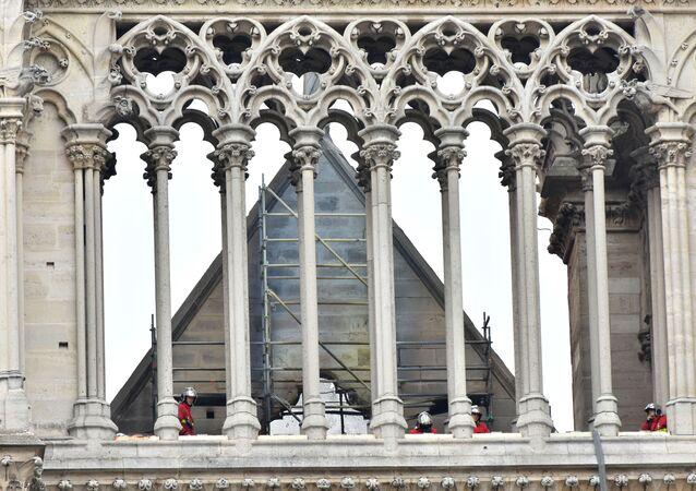 Notre-Dame après l'incendie