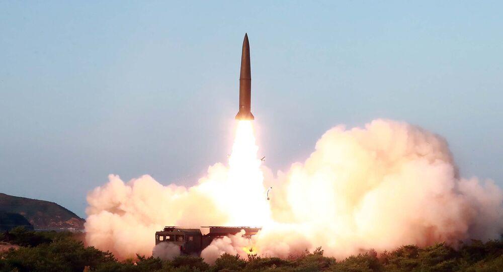 lancement de missile par la Corée du Nord