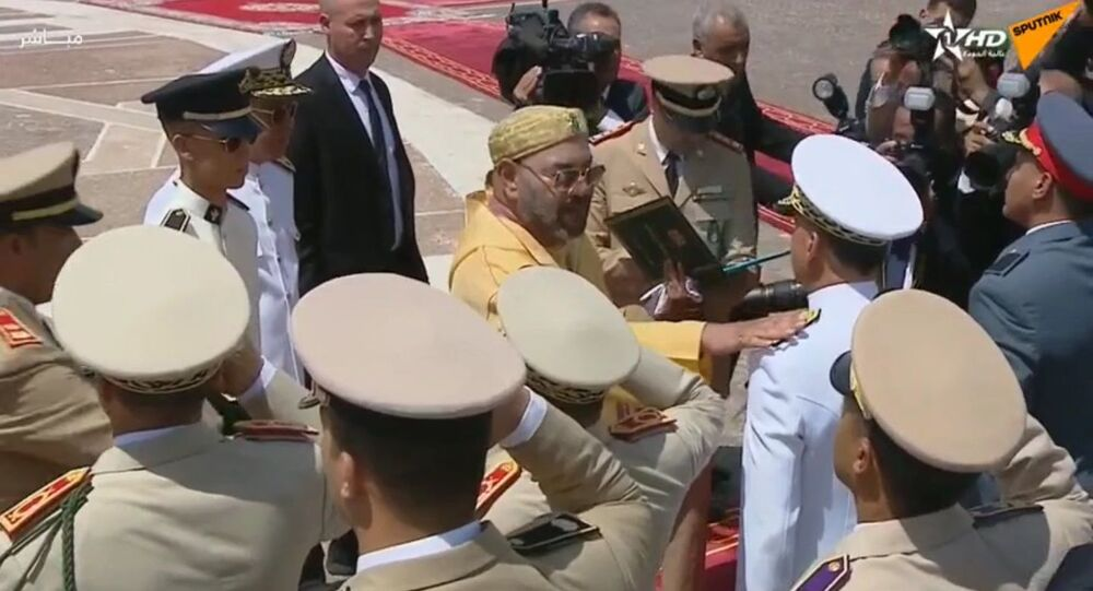 Cérémonie d'assermentation du 20e anniversaire de l'accession au trône du roi Mohammed VI