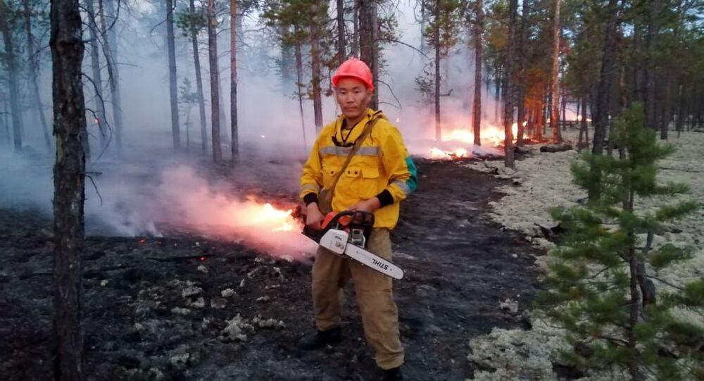 Feux de forêts en Sibérie