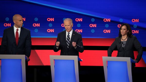 débat primaire démocrate - Sputnik France