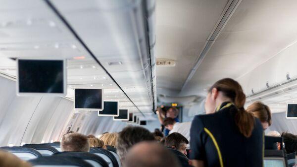 à bord d'un avion - Sputnik France