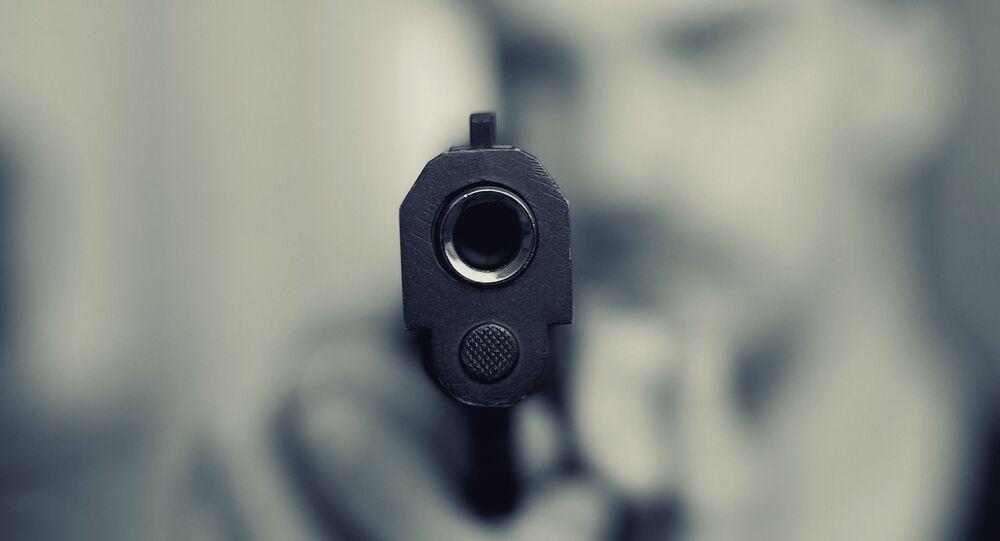 Une arme