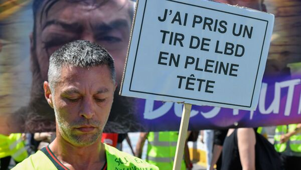 Une manifestation contre les violences policières à Paris - Sputnik France
