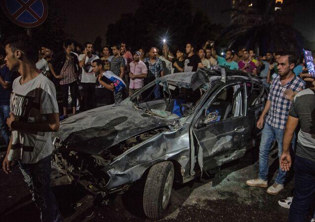 Explosion au Caire