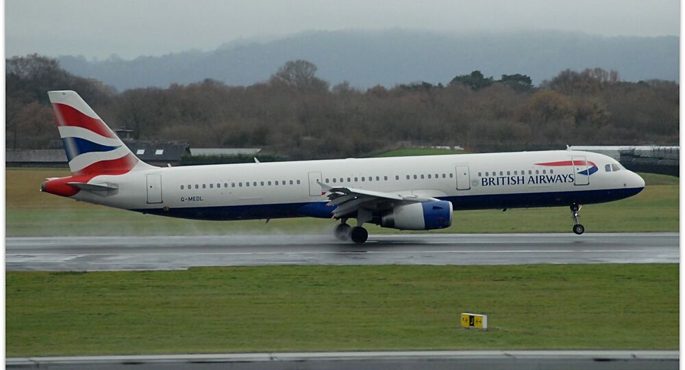 Un Airbus A321 de British Airways