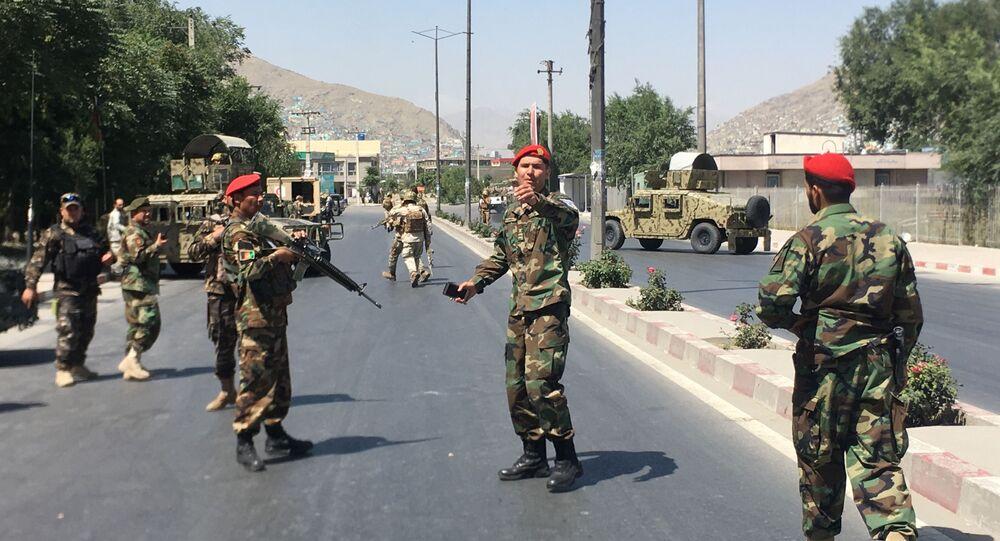 Forces de sécurité afghanes, image d'illustration