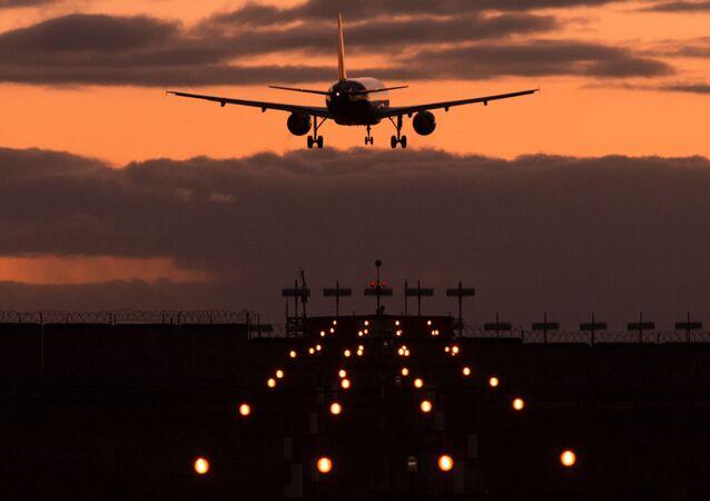 Un avion d'Aeroflot à l'aéroport de Chérémétiévo