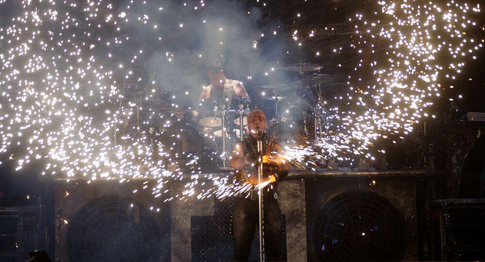 un concert de Rammstein (image d'illustration)