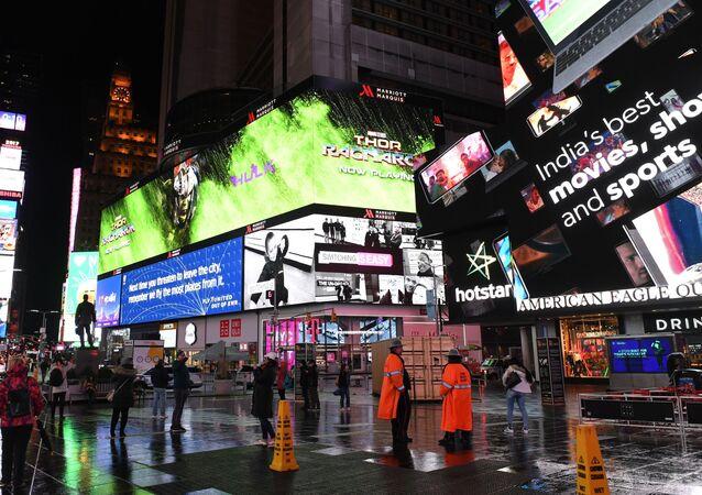 Times Square (image d'illustration)