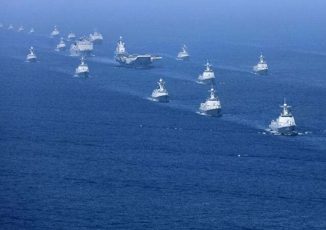 Exercices militaires chinois en Mer de Chine du Sud en 2018
