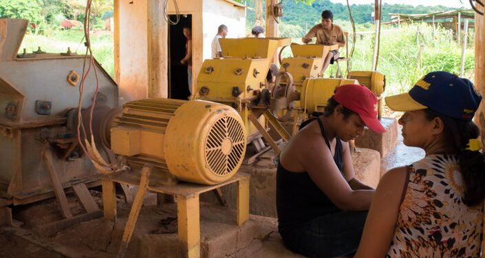 Extraction de l'or à Callao