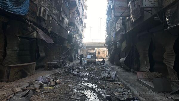 Alep 2016 - Sputnik France