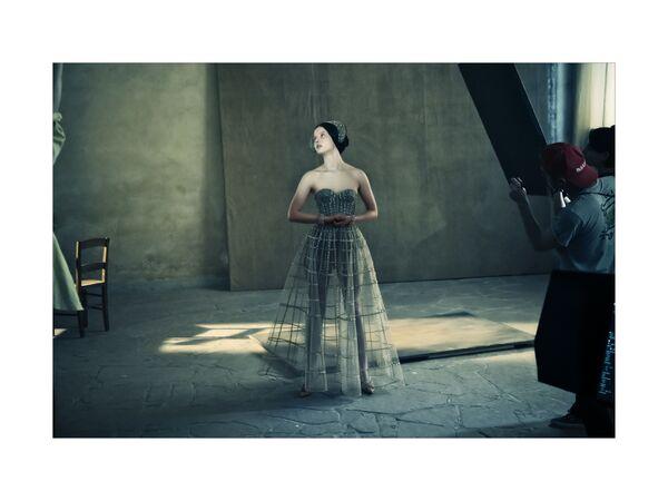 L'actrice Mia Goth photographiée pour le calendrier 2020 Pirelli. - Sputnik France