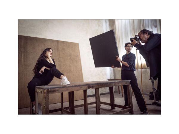 La chanteuse Roaslia photographiée pour le calendrier 2020 Pirelli. - Sputnik France