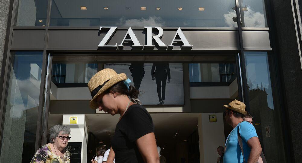 Un magasin Zara en Espagne