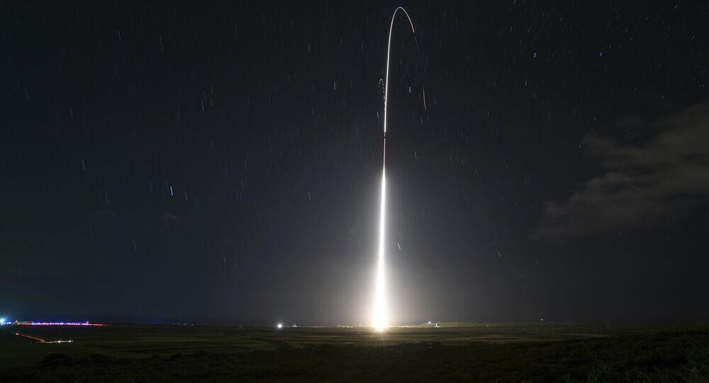 Lancement d'un missile