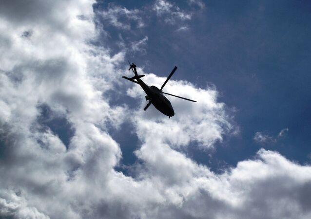 Un hélicoptère (image d'illustration)