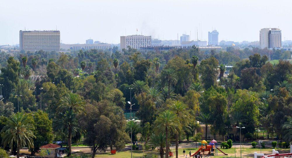 La zone verte de Bagdad