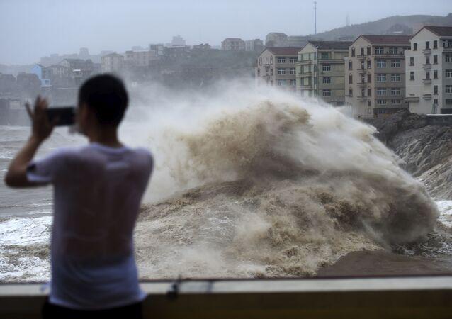 Lekima, typhon dévastateur en Chine