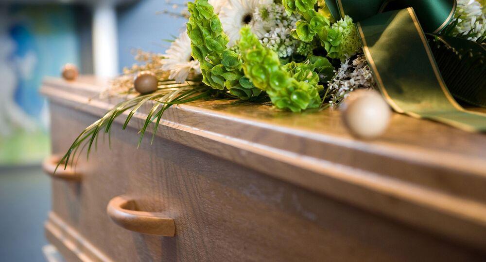 Un cercueil, image d'illustration