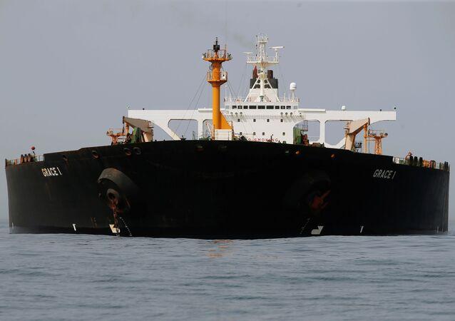 le pétrolier iranien Grace 1