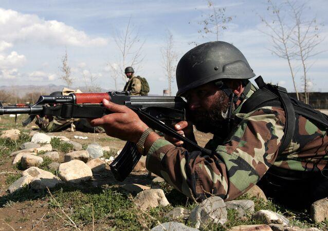 Un militaire pakistanais (image d'illustration)