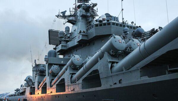 Le croiseur Maréchal Oustinov - Sputnik France