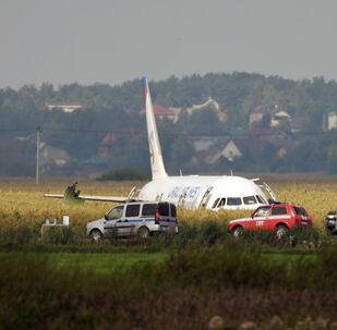Un Airbus A321 se pose en catastrophe dans la région de Moscou