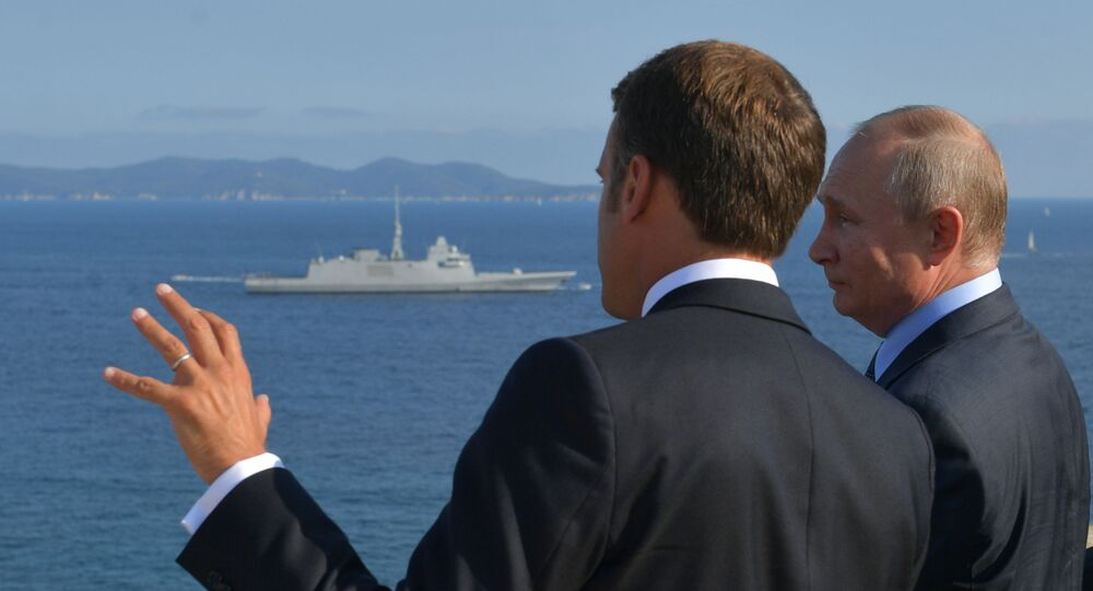 La visite de travail de Vladimir Poutine en France, le 19 août 2019