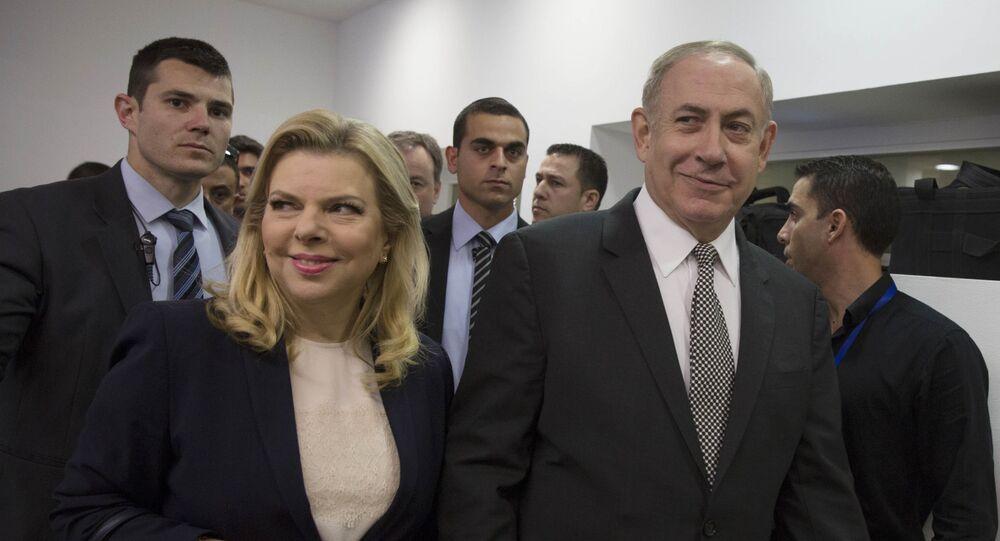 Le Premier ministre israélien Benyamin Netanyahou et sa femme Sarah