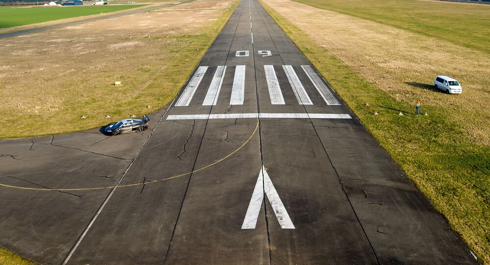 Une piste d'atterrissage (image d'illustration)