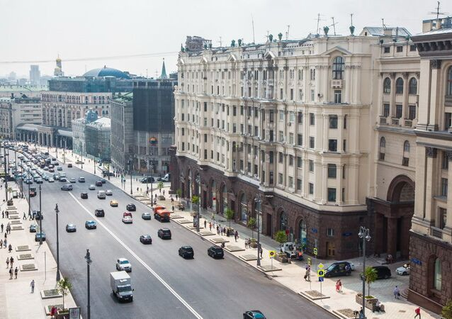 La rue Tverskaïa aujourd'hui