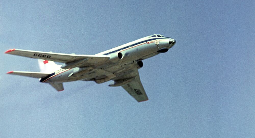 Un Tupolev Tu-124 (archive photo)