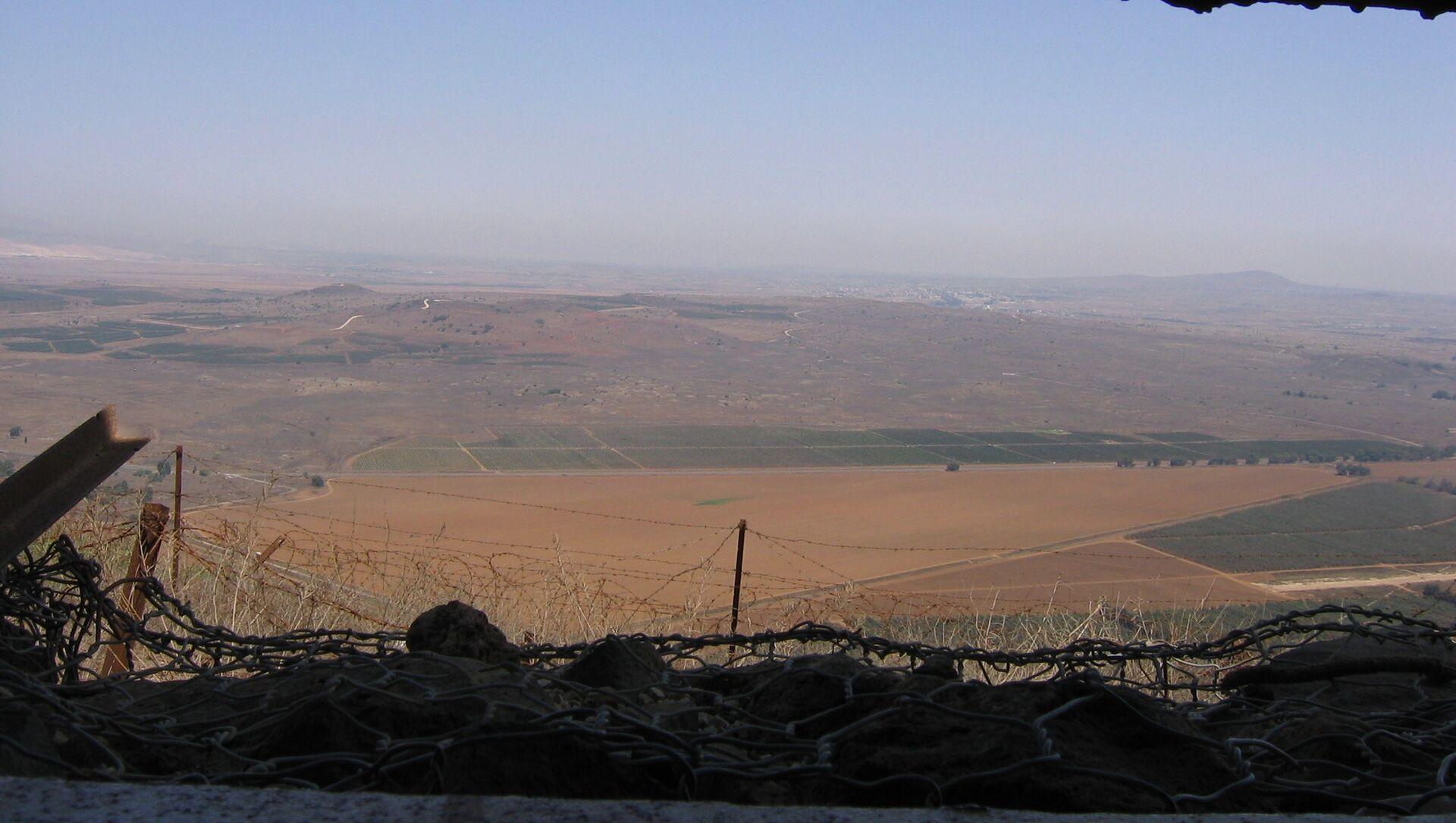 Plateau du Golan, archives - Sputnik France, 1920, 16.03.2021