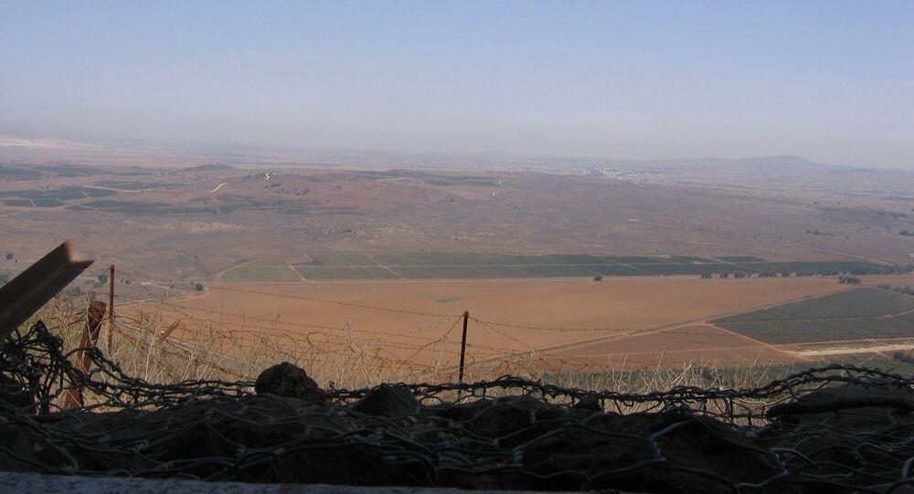 Plateau du Golan, archives