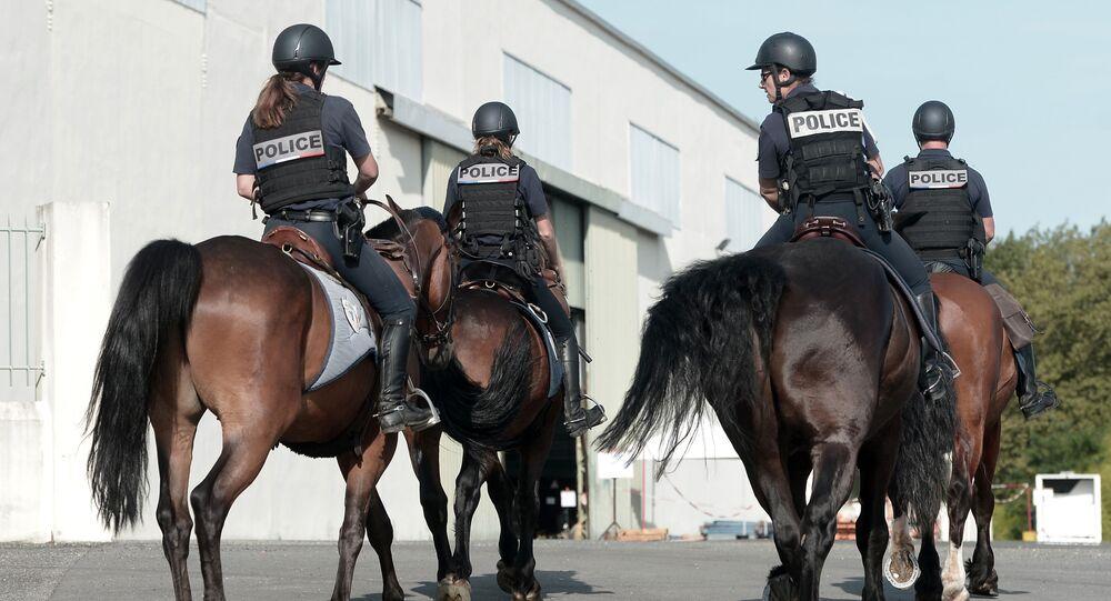 Police à Biarritz, le 19 août 2019
