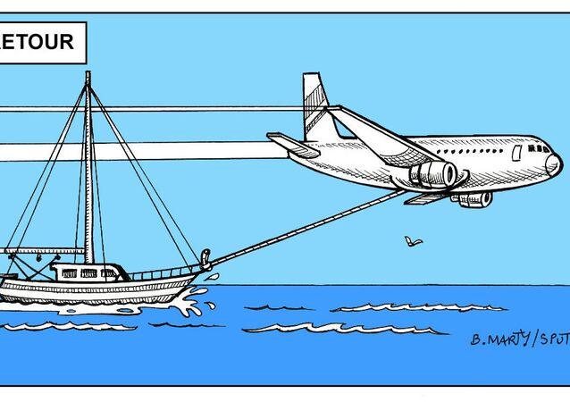 Bateau à l'aller, avion au retour: la traversée pas vraiment «écolo» de Greta Thunberg