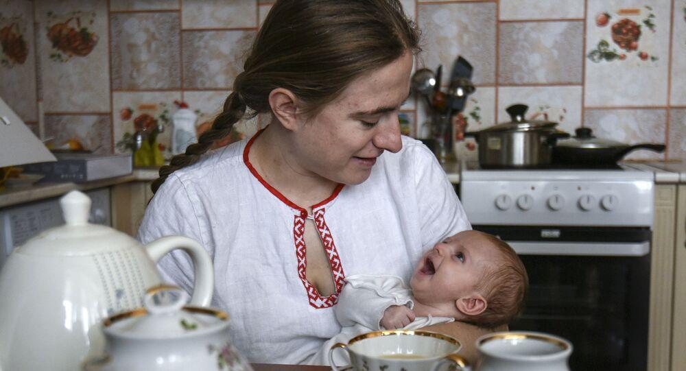 Mère allaitante