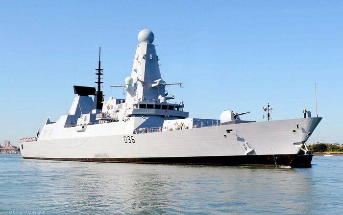 Un destroyer britannique de type 45 (image d'illustration)