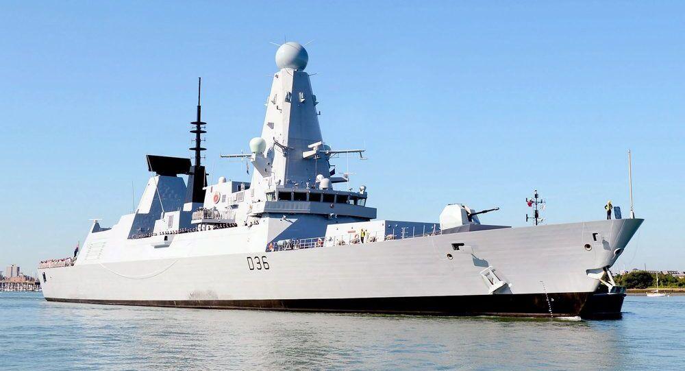 Un destroyer britannique de type 45