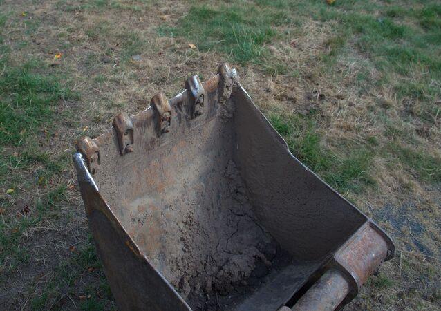 Une excavatrice (image d'illustration)