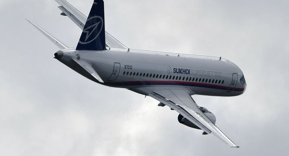 Un Sukhoi Superjet-100 (image d'illustration)